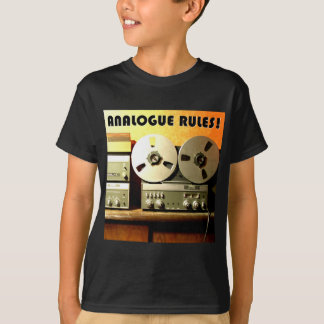 Analogue Rules T-Shirt