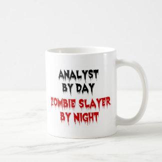Analyst by Day Zombie Slayer by Night Coffee Mug