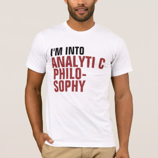 Analytic Philosophy T-Shirt