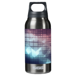Analytics Technology with Data Moving Insulated Water Bottle