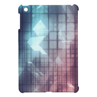 Analytics Technology with Data Moving iPad Mini Covers