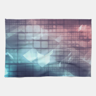 Analytics Technology with Data Moving Kitchen Towel