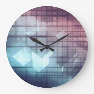Analytics Technology with Data Moving Large Clock