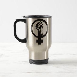 Anarcha feminism travel mug