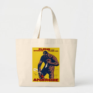 Anarchie Large Tote Bag
