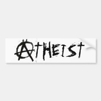 ANARCHIST ATHEIST BUMPER STICKER