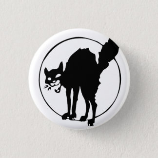 Anarchist Cat 1 Inch Round Button