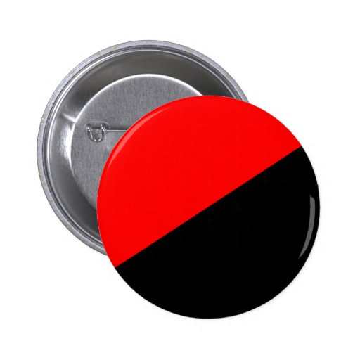 Anarchist, Colombia Political flag Button