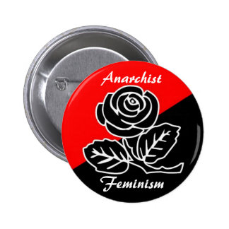 anarchist feminism button