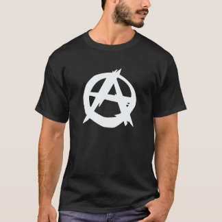 Anarchist logo men's t-shirt