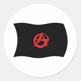 Anarchist Movement Flag Sticker