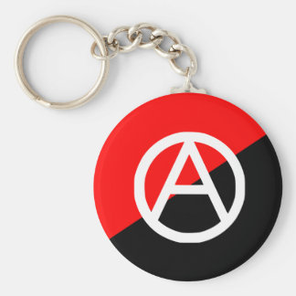 Anarchist With A Symbol2, Colombia flag Keychain
