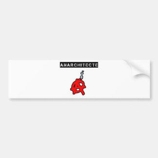 Anarchitecte - Word games - François City Bumper Sticker