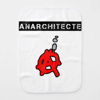 Anarchitecte - Word games - François City Burp Cloth