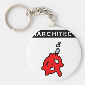 Anarchitecte - Word games - François City Keychain