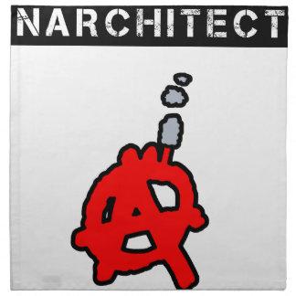 Anarchitecte - Word games - François City Napkin