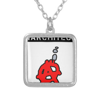Anarchitecte - Word games - François City Silver Plated Necklace