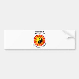 Anarcho Capitalism - Life, Liberty, Property Bumper Sticker