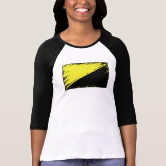 Anarcho-capitalist Flag 3/4 Sleeve T-shirt
