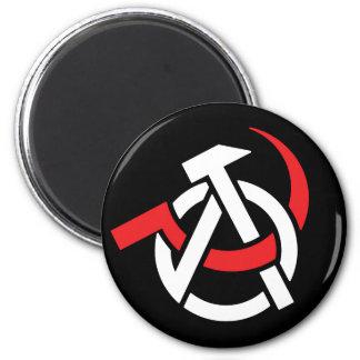 Anarcho-Communist Symbol Magnet
