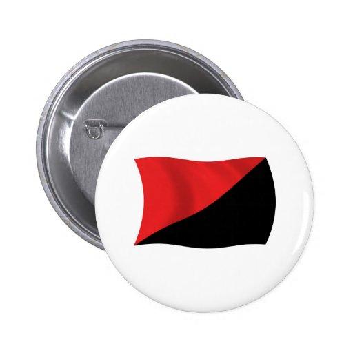 Anarcho-Syndicalism Flag Button