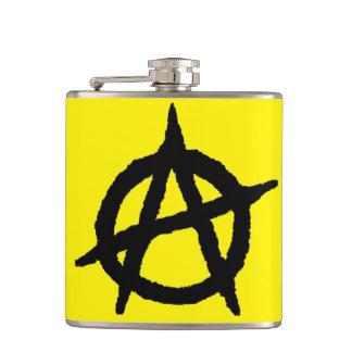 Anarchocapitalist Hip Flask