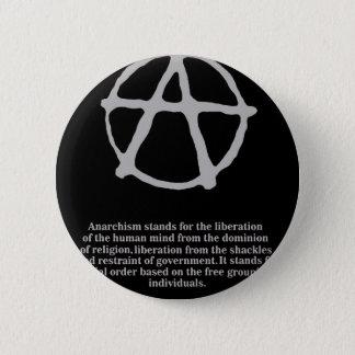 anarchy. 2 inch round button