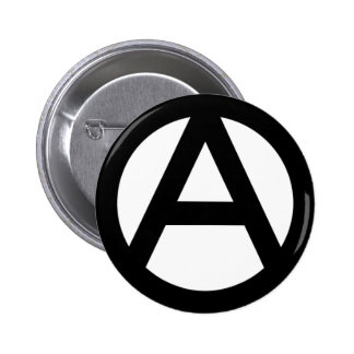 Anarchy anarchy PUNK non government principle flat 2 Inch Round Button