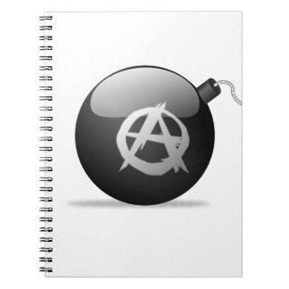 Anarchy Bomb Notebooks