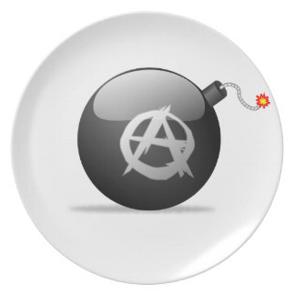 Anarchy Bomb Plate