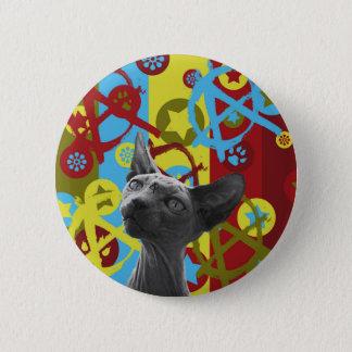 Anarchy Cat 2 Inch Round Button