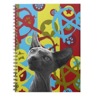 Anarchy Cat Notebook
