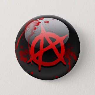 Anarchy Flag 2 Inch Round Button