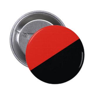 anarchy flag red black 2 inch round button