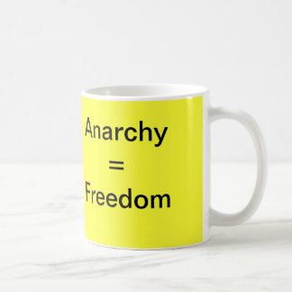 Anarchy = Freedom Mug