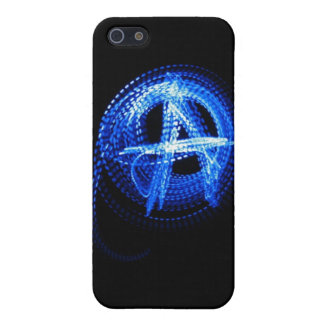 Anarchy in Blue iPhone 5/5S Cover