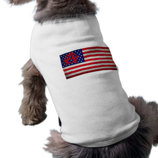 Anarchy in the USA Doggie T-shirt