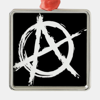 Anarchy Metal Ornament