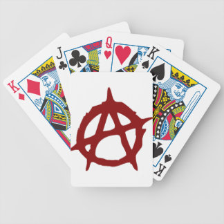 Anarchy - ONE:Print Bicycle Playing Cards