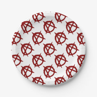 Anarchy - ONE:Print Paper Plate