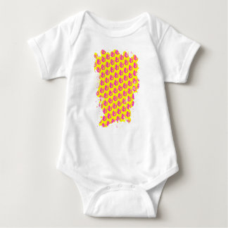Anarchy Pattern Baby Bodysuit