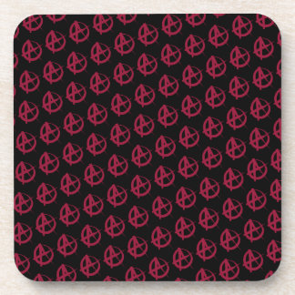Anarchy Pattern Coaster