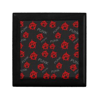 Anarchy pattern gift box