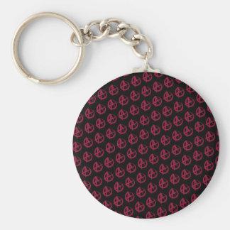 Anarchy Pattern Keychain