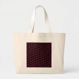 Anarchy Pattern Large Tote Bag