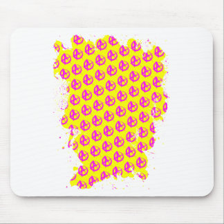 Anarchy Pattern Mouse Pad