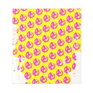 Anarchy Pattern Notepad