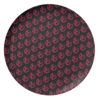 Anarchy Pattern Plate