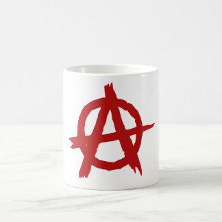 Anarchy Red Circle A White Mug