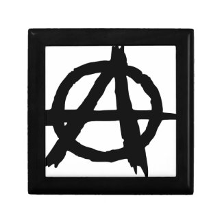Anarchy Symbol Gift Box